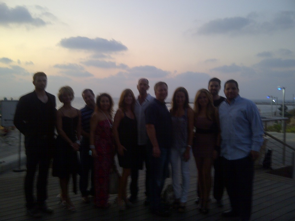 Cast of in Israel