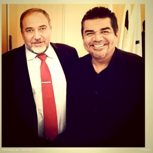Meeting with foreign Minister of Israel Avigdor Lieberman